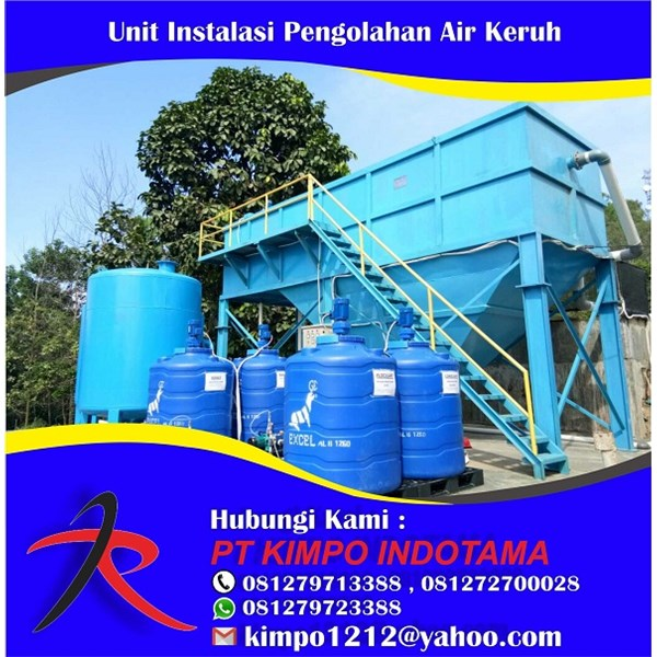 Unit Instalasi Pengolahan Air Keruh