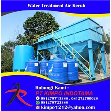 Water Treatment Air Keruh