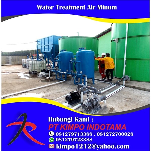 Water Treatment Air Minum