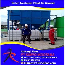 Water Treatment Plant Air Gambut