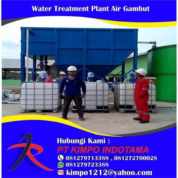Water Treatment Plant Air Gambut