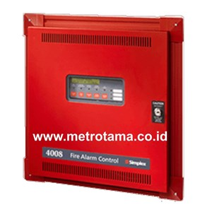 From Simplex 4008 Fire Alarm Control Panel 0