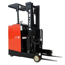 Sewa Reach Truck Stacker Ban Battery Forklift