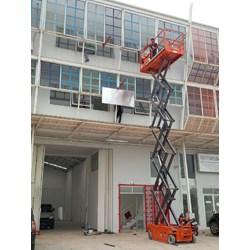 sewa scissor lift By Catur Sigma Sinergi