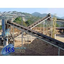 Mesin Pertambangan Roller Conveyor
