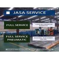 service kompresor / screw air compressor / drilling By Kaitain Machinery Indonesia