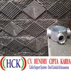 Circular Surface Box Atau Tee Dost Cabang 3 Alumunium (Type E) 1