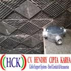 Circular Surface Box Atau Tee Dost Cabang 4 Alumunium (Type G) 1