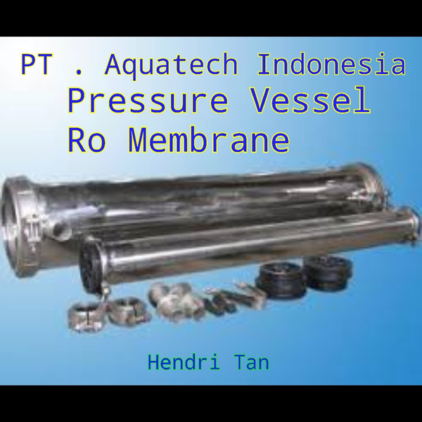 Pressure Vessel Ro membrane Stainless (SS)304