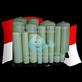 Tangki Fiber (FRP Tank) Aqualine 24 x 72