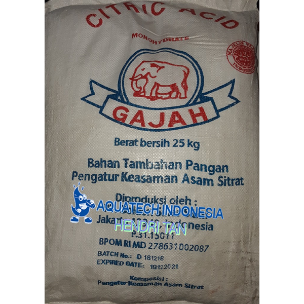 Asam sitrat Citric acid
