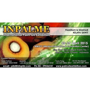 INPALME (International Network Palm Oil Exhibition) By PT  International Network(Exhibition)