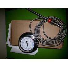 Bimetal termometer capillary