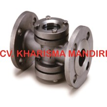 Sight glass Flange end