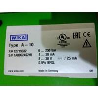 Jual pressure transmitter wika 0 - 250 Bar 2