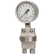 Differential pressure gauge Diaphragm element series