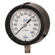 Bourdon tube pressure gauge process gauge safety pattern version
