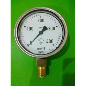 pressure gauge wika 400 mmH2O