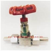 Needle valve J23W-160P DN6