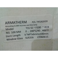 Distributor Thermometer Bimetal 200C 3