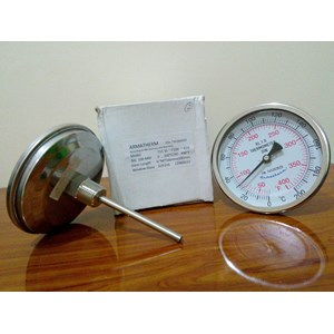 Thermometer Bimetal 200C