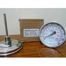 Thermometer Bimetal 500C