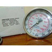 Thermometer Bimetal 600C