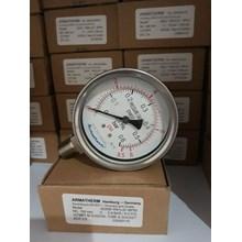 jual pressure gauge 0.6 bar