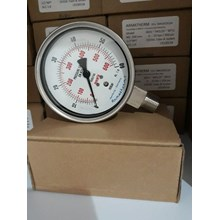 pressure gauge  60 mbar