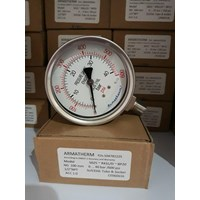 Jual pressure gauge  40 Bar
