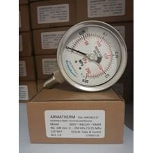 Jual pressure gauge 0.25 mpa
