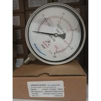 Jual jual pressure gauge 100 mbar