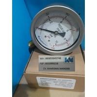 Pressure gauge 10 Bar stainless brass  1
