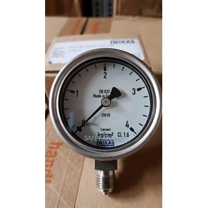 Pressure gauge wika 4 kg/cm2