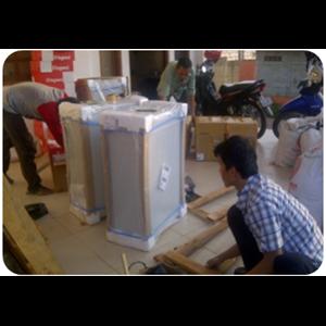 Packing barang milik PT PDS Martins By Run Logistics