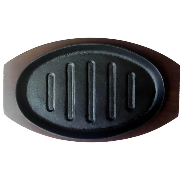 Hot plate Oval Garis CP - 27