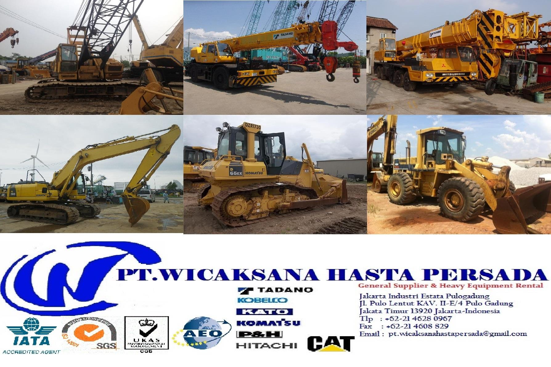 Sell Leasing Equipment From Indonesia By Ud Wicasana