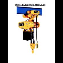 Elektrik Chain Block Hoist with Electric Trolley W