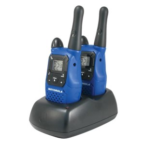 motorola walkie talkie blue. walkie talkie motorola mc220r blue