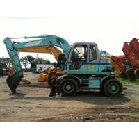 Jual Wheel Excavators Kobelco SK100. Ex JAPAN !