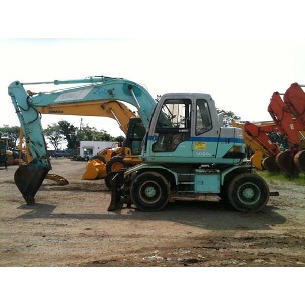 Sell Wheel Excavators Kobelco SK100  Ex JAPAN!