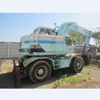 Jual Wheel Excavator SK100W