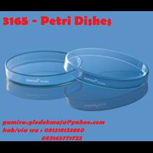 borosil Petri Dishes Alat Laboratorium Umum