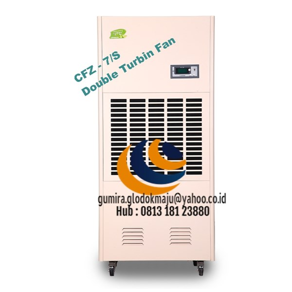Dehumidifier CFZ - 7 /S Double Turbin Fan