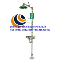 HAWS COMBINATION EYEWASH SHOWER 8300-8309.