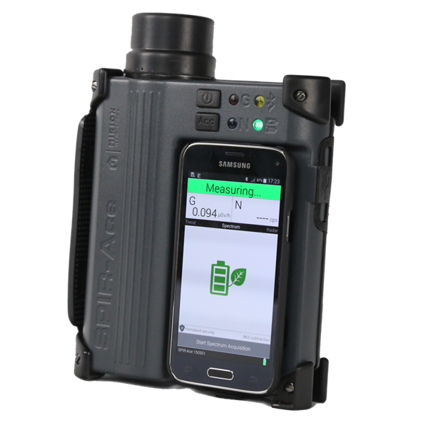 SPIR-ACE™ SMARTPHONE Radionuclide Identification Device