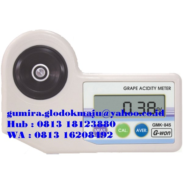 Digital Fruits Acidity Meters GMK-845 series