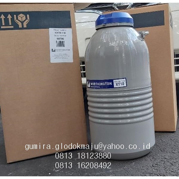 Worthington Industries Liquid Nitrogen Refrigerator  Model XT10