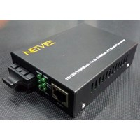 Netviel Media Converter NVL-MC-MM100-SC 1