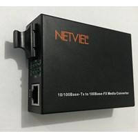 Netviel Media Converter NVL-MC-SM100-SC 1